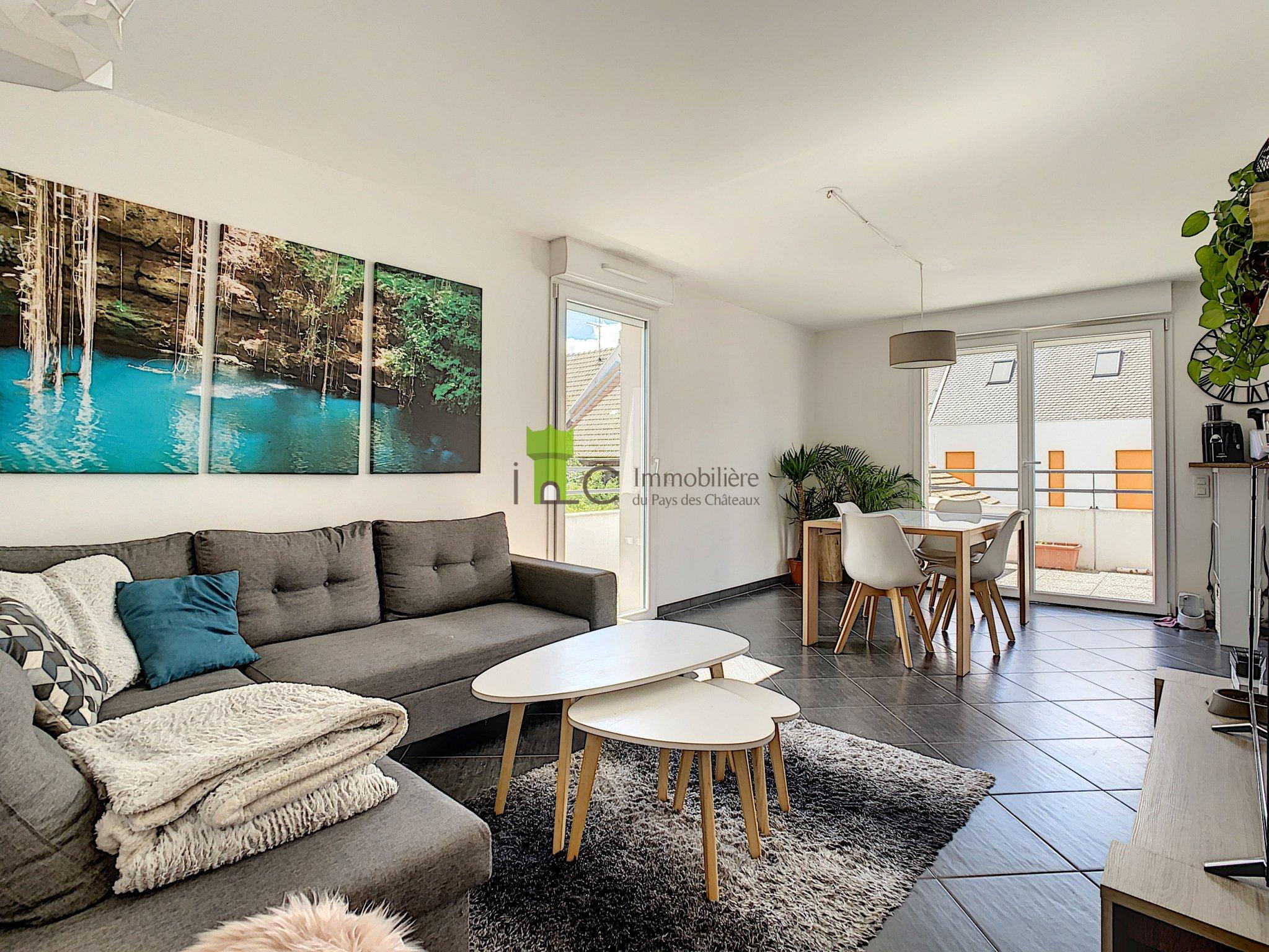 Oberhausbergen: F3 récent avec18m2 de terrasse et garage !